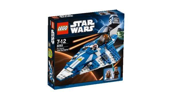 LEGO STAR WARS - 8093 - Plo Koon's Jedi Starfighter Plokoo11