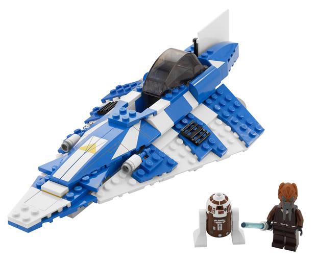 LEGO STAR WARS - 8093 - Plo Koon's Jedi Starfighter Plokoo12