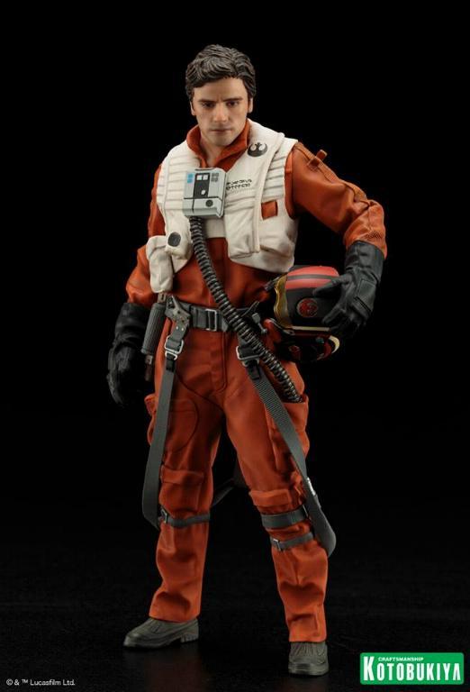 Kotobukiya -Star Wars TFA Poe Dameron & BB-8 Two Pack ARTFX+ Poe-bb11