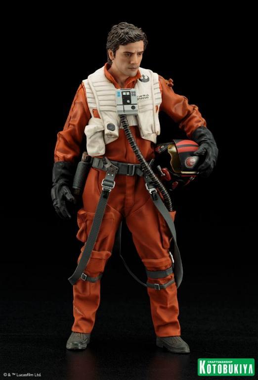 Kotobukiya -Star Wars TFA Poe Dameron & BB-8 Two Pack ARTFX+ Poe-bb12