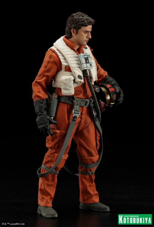 Kotobukiya -Star Wars TFA Poe Dameron & BB-8 Two Pack ARTFX+ Poe-bb13