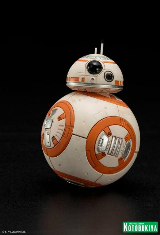 Kotobukiya -Star Wars TFA Poe Dameron & BB-8 Two Pack ARTFX+ Poe-bb16