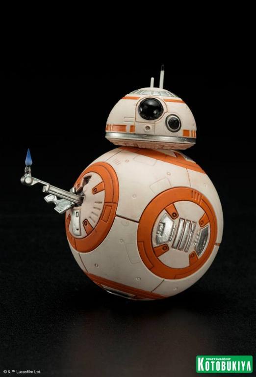 Kotobukiya -Star Wars TFA Poe Dameron & BB-8 Two Pack ARTFX+ Poe-bb17