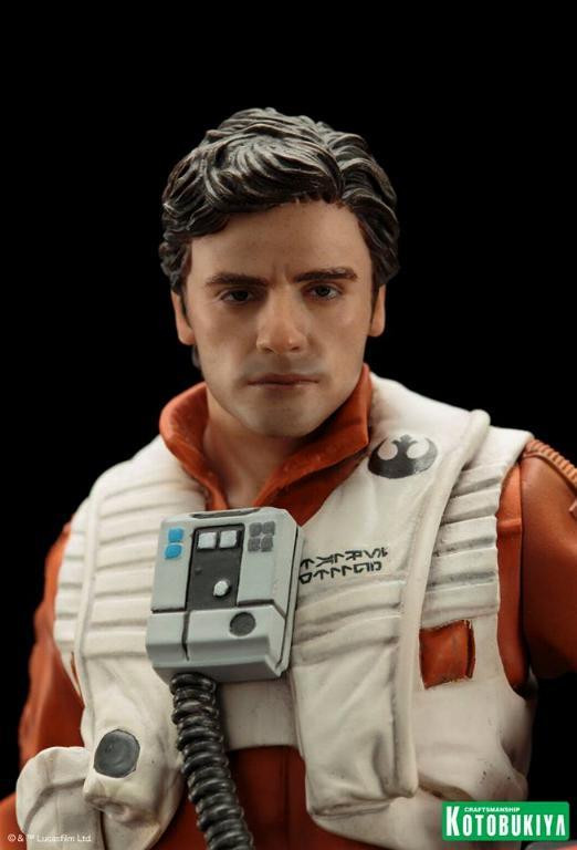 Kotobukiya -Star Wars TFA Poe Dameron & BB-8 Two Pack ARTFX+ Poe-bb18