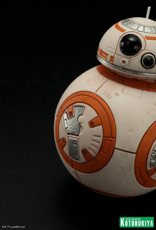 Kotobukiya -Star Wars TFA Poe Dameron & BB-8 Two Pack ARTFX+ Poe-bb21