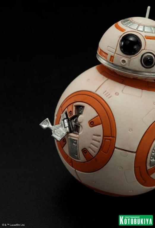 Kotobukiya -Star Wars TFA Poe Dameron & BB-8 Two Pack ARTFX+ Poe-bb22