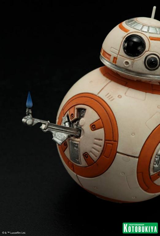 Kotobukiya -Star Wars TFA Poe Dameron & BB-8 Two Pack ARTFX+ Poe-bb23