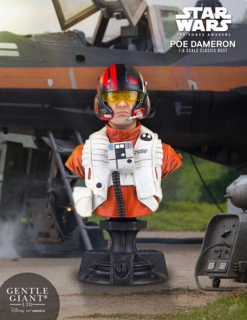 Poe Dameron TFA X-Wing Pilot Classic Mini Bust - PGM Exclu Poe_pi10