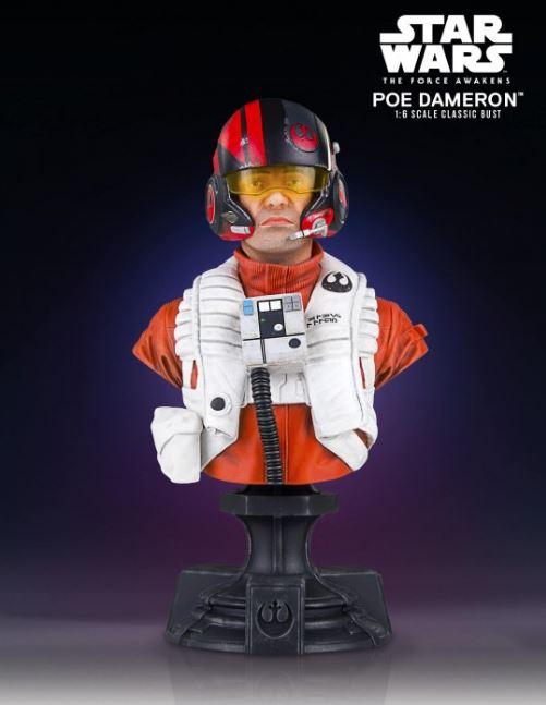 Poe Dameron TFA X-Wing Pilot Classic Mini Bust - PGM Exclu Poe_pi11
