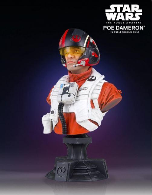 Poe Dameron TFA X-Wing Pilot Classic Mini Bust - PGM Exclu Poe_pi12