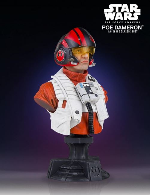 Poe Dameron TFA X-Wing Pilot Classic Mini Bust - PGM Exclu Poe_pi13