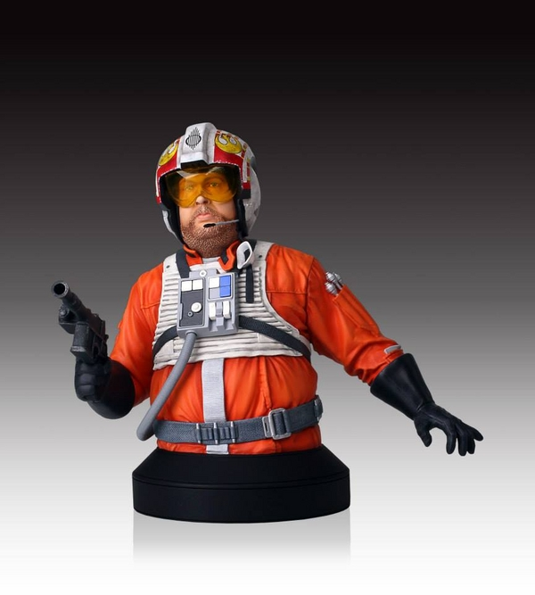 Gentle Giant - SDCC 2014 exclusives - Jek Porkins Mini Bust. Porkin10