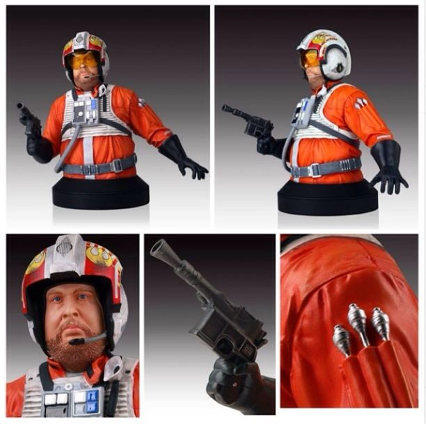 Gentle Giant - SDCC 2014 exclusives - Jek Porkins Mini Bust. Porkin11
