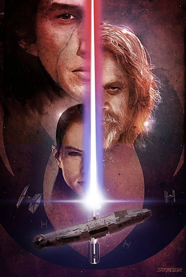 8 - Les posters de Star Wars VIII - The Last Jedi Poster10