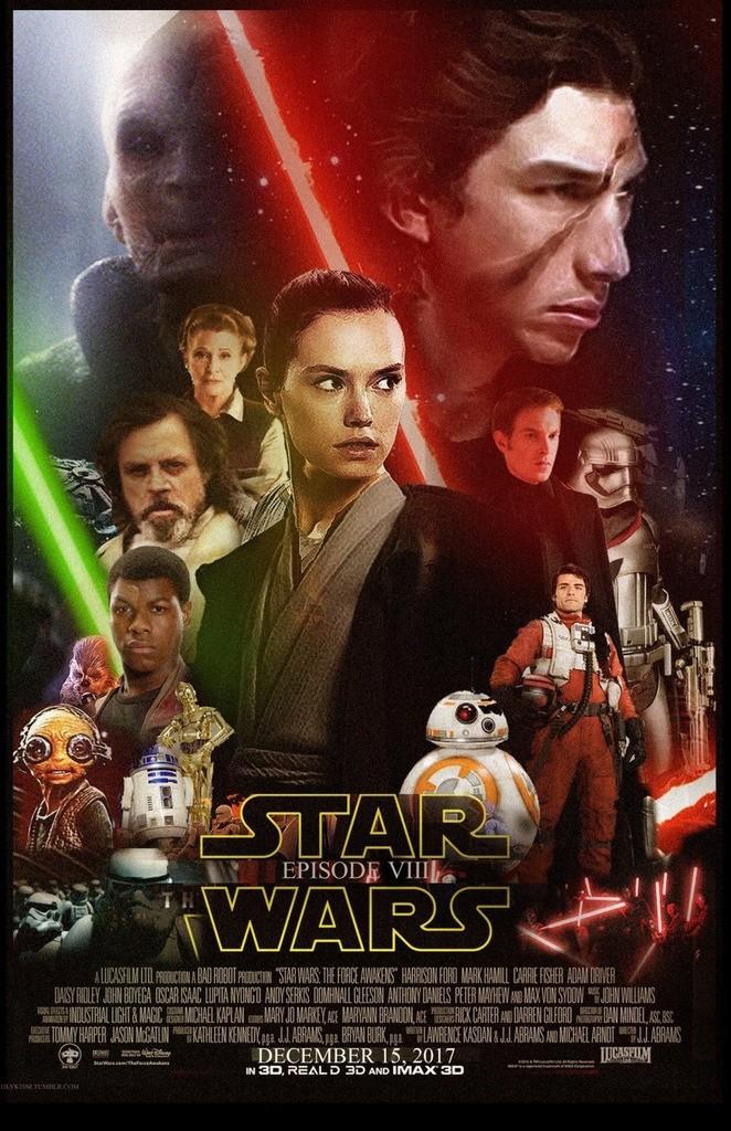8 - Les posters de Star Wars VIII - The Last Jedi Poster54