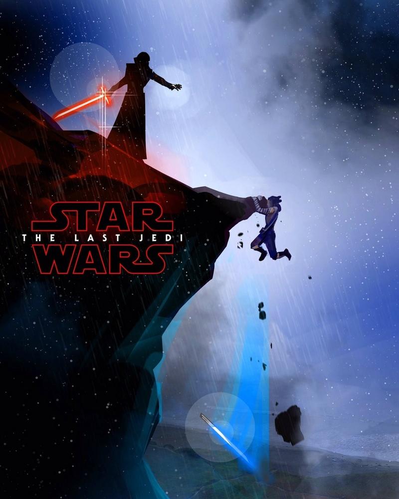 8 - Les posters de Star Wars VIII - The Last Jedi Poster56