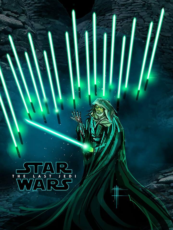 8 - Les posters de Star Wars VIII - The Last Jedi Poster57