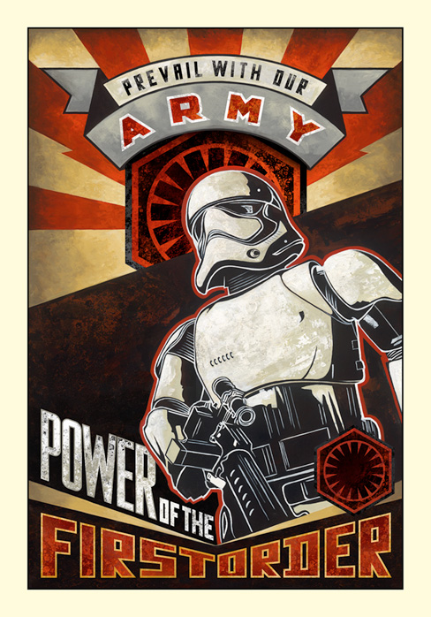 Artwork Star Wars - ACME - Power of the First Order Power_10