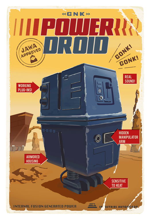 Artwork Star Wars - ACME - Power Droid Powerd10