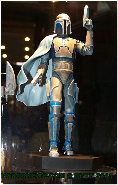 Gentle Giant  - Pre Vizsla Holographic Statue Prezz010
