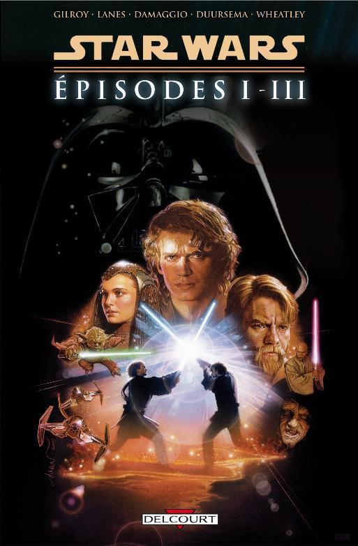Star Wars l'Intégrale Épisodes I, II, III Prlogi10