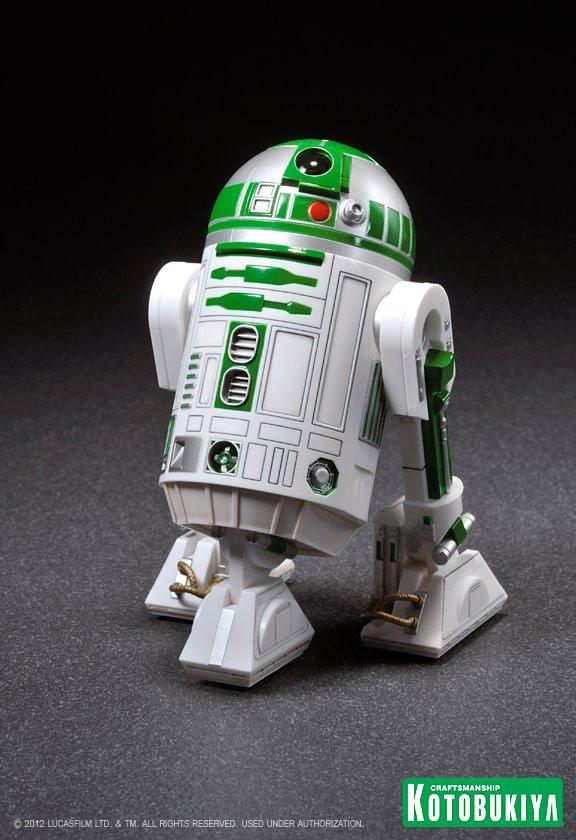 Kotobukiya - R2-A6 ARTFX+ Statue Star Wars Celebration VI  R2-a6010