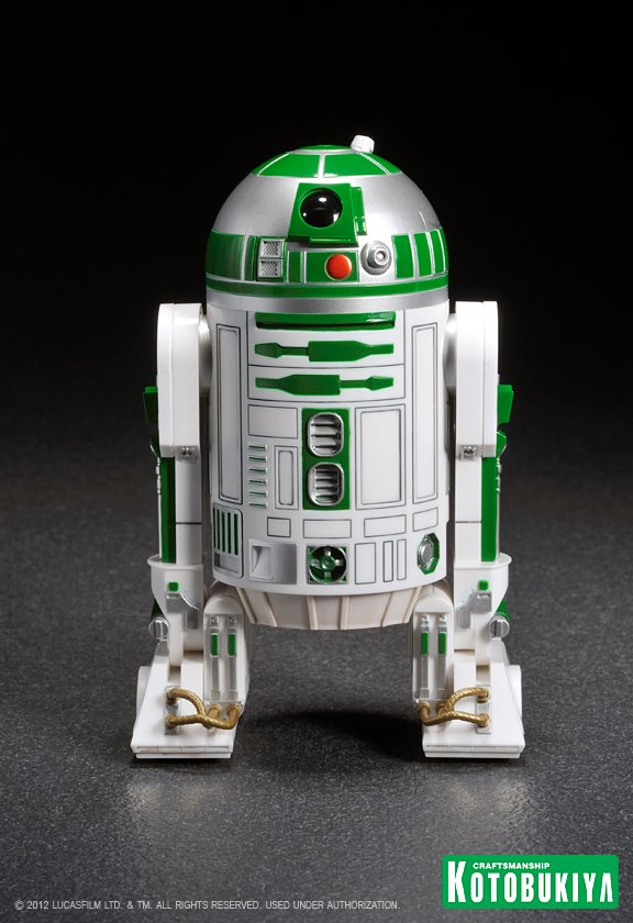 Kotobukiya - R2-A6 ARTFX+ Statue Star Wars Celebration VI  R2-a6011