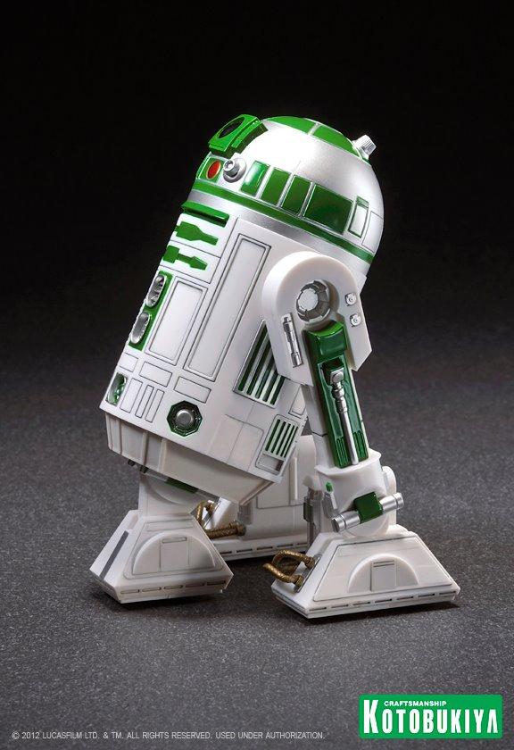 Kotobukiya - R2-A6 ARTFX+ Statue Star Wars Celebration VI  R2-a6012