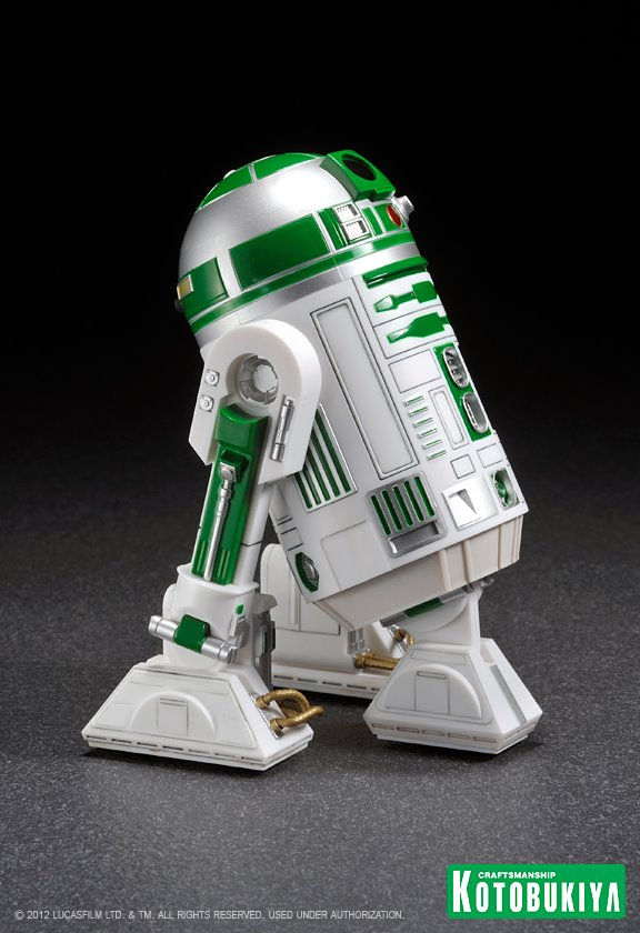 Kotobukiya - R2-A6 ARTFX+ Statue Star Wars Celebration VI  R2-a6013