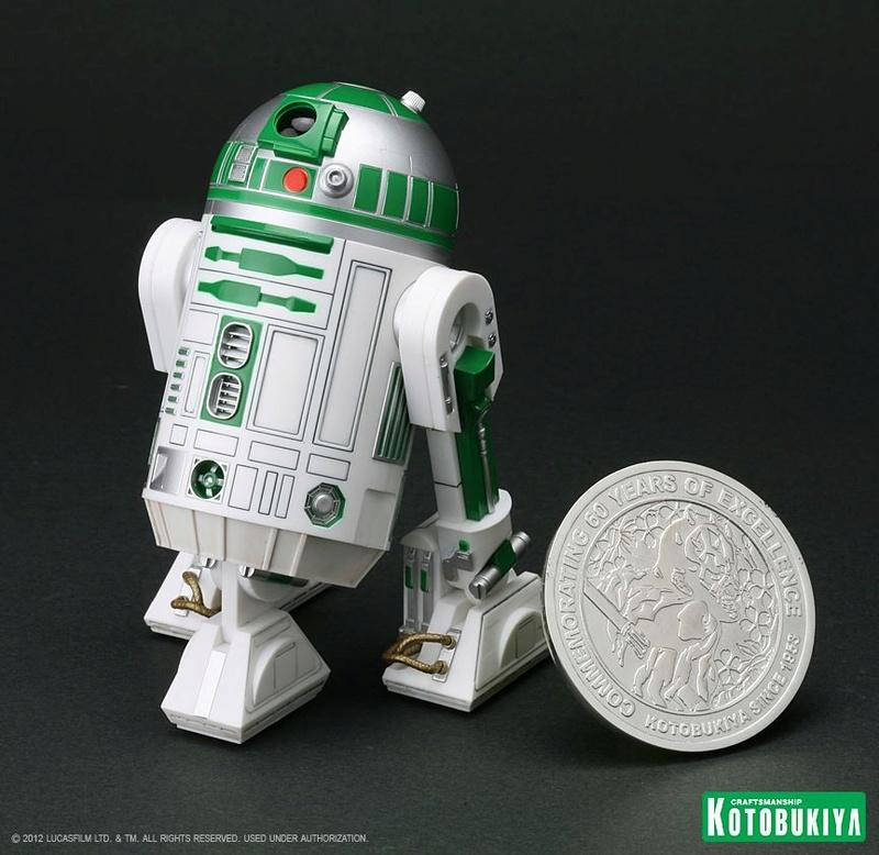 Kotobukiya - R2-A6 ARTFX+ Statue Star Wars Celebration VI  R2-a6014