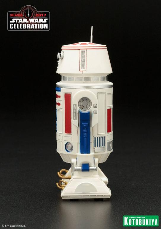 Kotobukiya Star Wars Celebration 2017 Exclusive R5-D4 ARTFX+ R5d4_010
