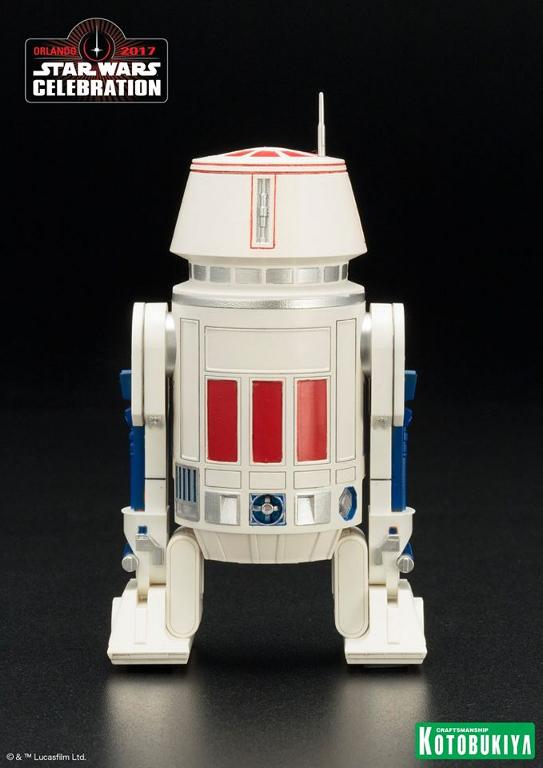 Kotobukiya Star Wars Celebration 2017 Exclusive R5-D4 ARTFX+ R5d4_011