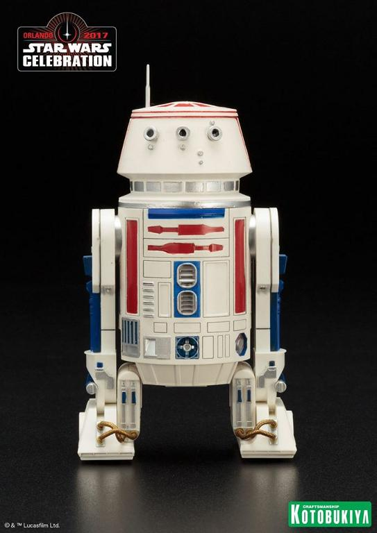 Kotobukiya Star Wars Celebration 2017 Exclusive R5-D4 ARTFX+ R5d4_012