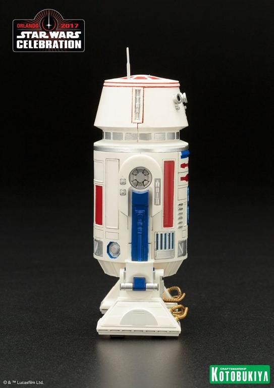 Kotobukiya Star Wars Celebration 2017 Exclusive R5-D4 ARTFX+ R5d4_015
