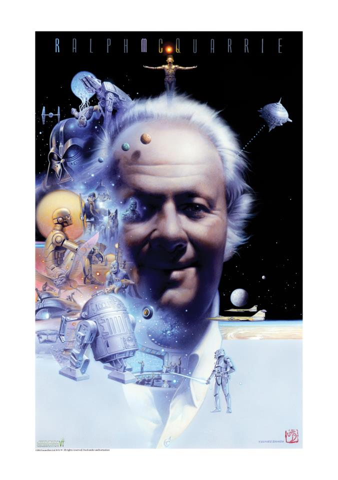Star Wars Celebration VI: Ralph McQuarrie Tribute  Ralph011
