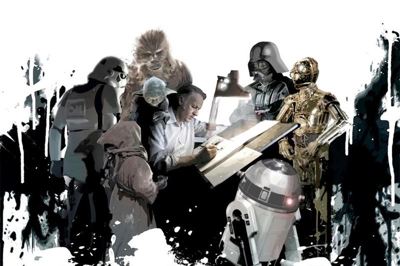 Star Wars Celebration VI: Ralph McQuarrie Tribute  Ralph013
