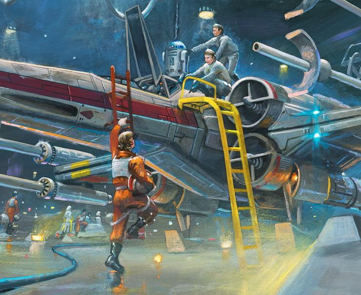 Artwork Star Wars - ACME - Rebel Starfighters Rebel_15