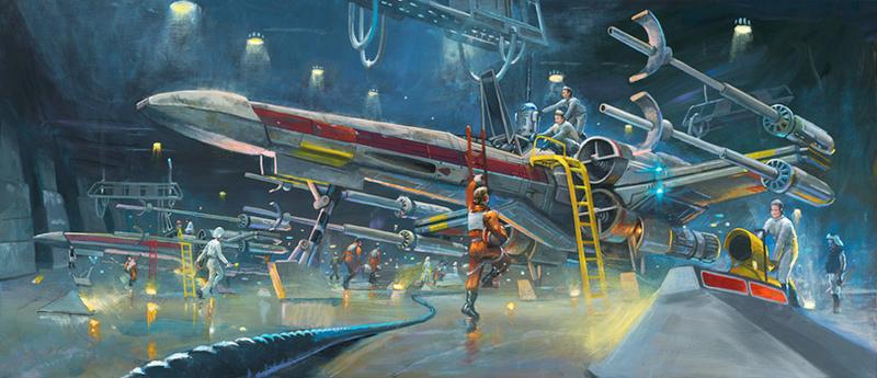 Artwork Star Wars - ACME - Rebel Starfighters Rebel_16