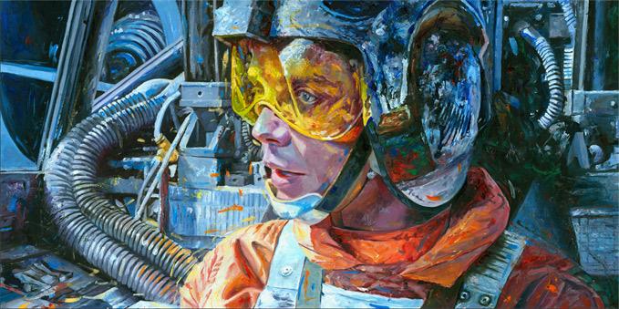 Artwork Star Wars - ACME - Rebel Pilot Rebelp10