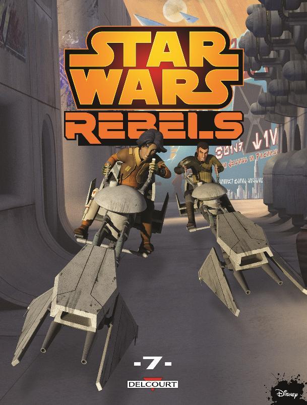 Star Wars Rebels Tome 7 - DELCOURT Rebels10