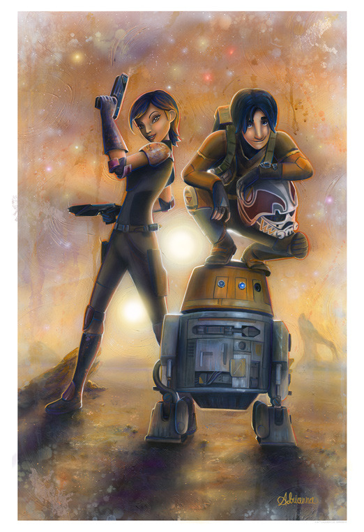 Artwork Star Wars - ACME - Rebels Rebels20