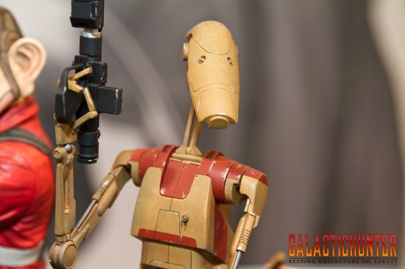 Gentle Giant - Red OOM Security Battle Droid - Minibust Red0110