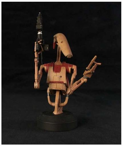 Gentle Giant - Red OOM Security Battle Droid - Minibust Red0510