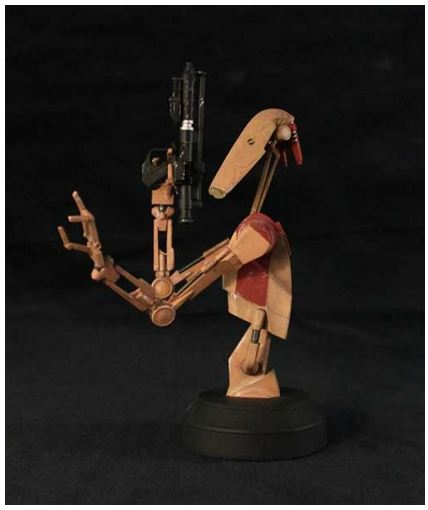 Gentle Giant - Red OOM Security Battle Droid - Minibust Red0610