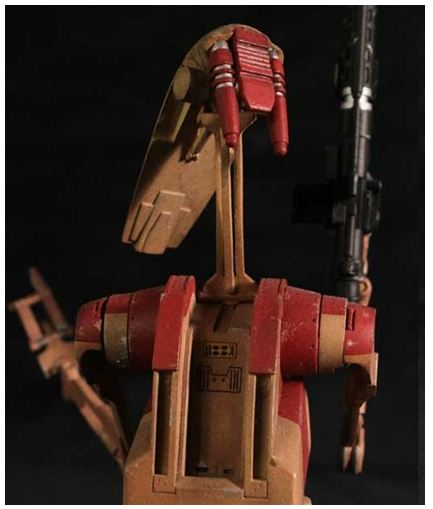 Gentle Giant - Red OOM Security Battle Droid - Minibust Red0810