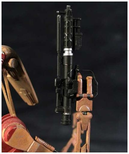 Gentle Giant - Red OOM Security Battle Droid - Minibust Red0910