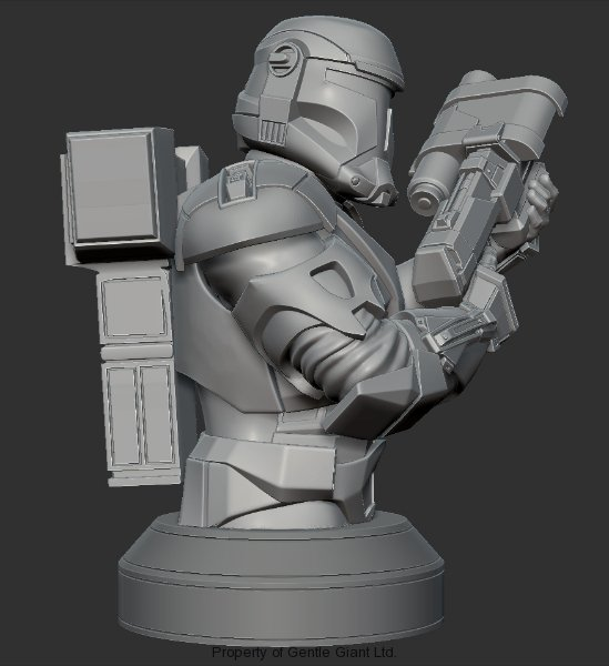 Gentle Giant - Republic Commando Mini-Bust - PGM Exclusive Republ10