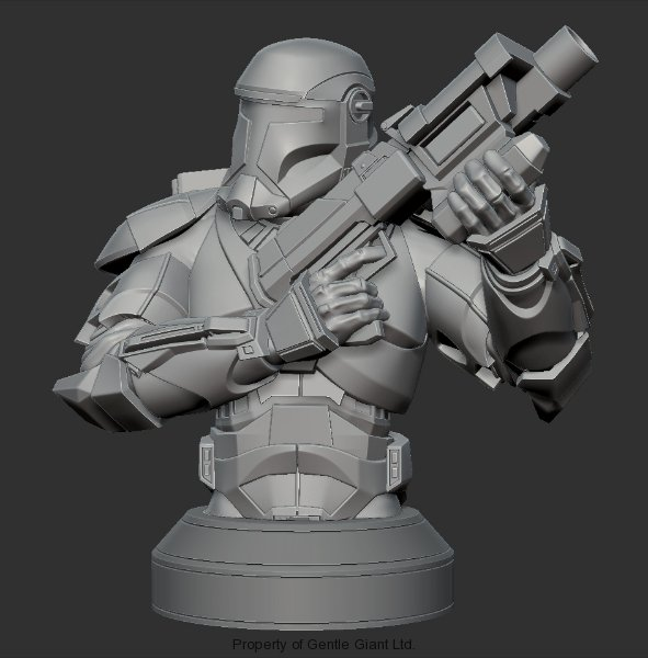 Gentle Giant - Republic Commando Mini-Bust - PGM Exclusive Republ12