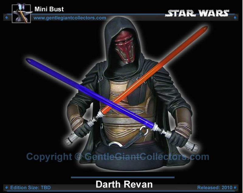 Gentle Giant - Darth Revan Mini Bust Revang14