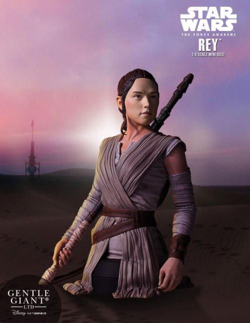 Gentle Giant -  Rey Star Wars Episode 7 Mini Bust 1:6 scale Rey_mi10